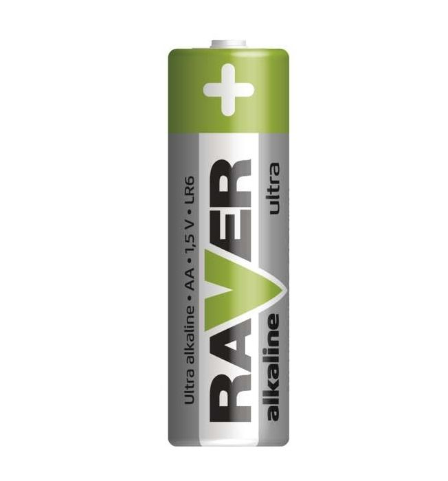 Alkalická baterie RAVER LR6 (AA) GP