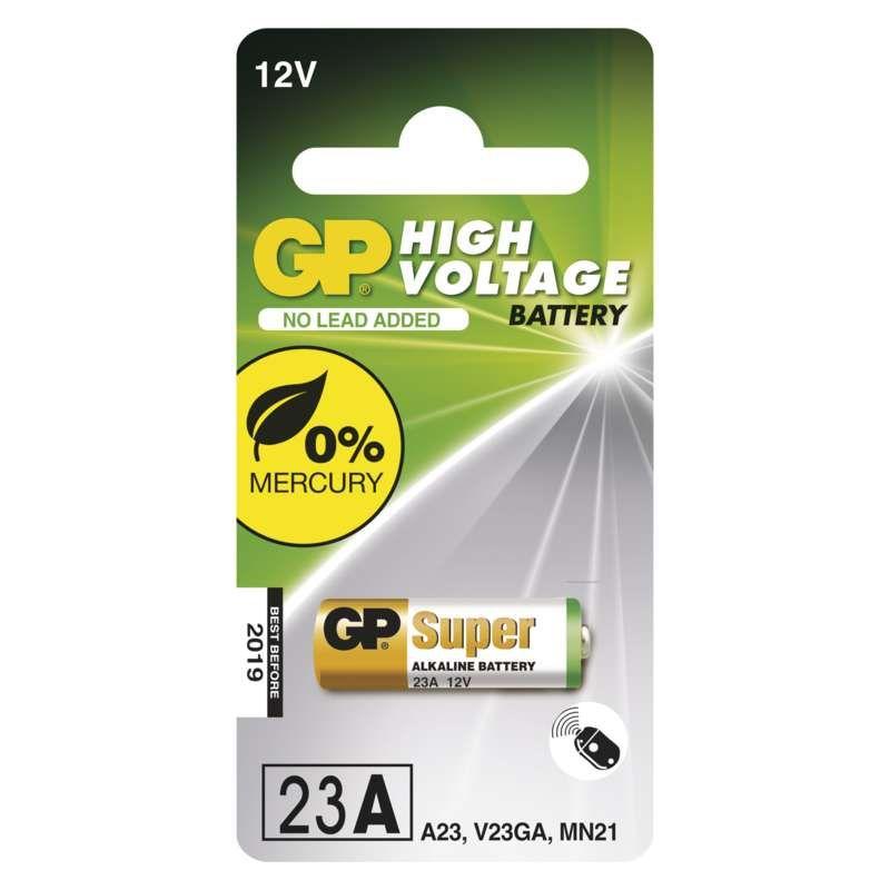 Alkalická speciální baterie GP 23AF (MN21, V23GA) 12 V