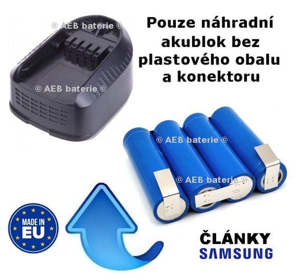 Baterie Bosch 2607336193, 14,4V 2000 mAh - akublok AEB