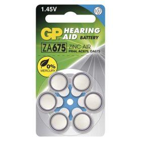 Baterie do naslouchadel GP ZA675 (PR44)
