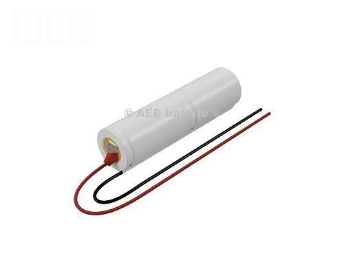 Baterie do nouzového osvětlení 2,4V AEB L1x2-S kabel V1S