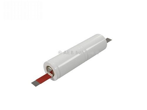 Baterie do nouzového osvětlení 2,4V AEB L1x2-S páskový vývod