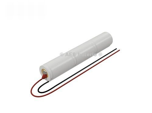 Baterie do nouzového osvětlení 3,6V AEB L1x3-S kabel V1S