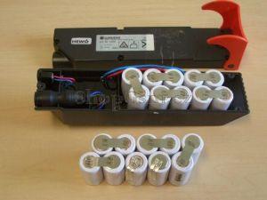 Baterie Gardena Art.Nr.1498, 12V 3000mAh Ni-Mh KIT