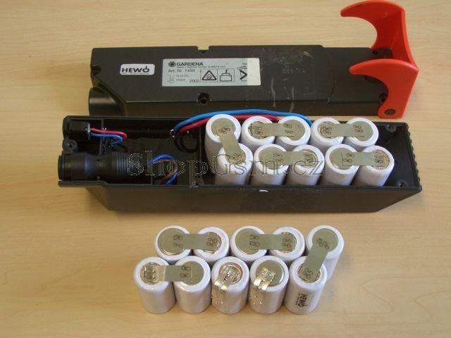 Baterie Gardena Art.Nr.1498, 12V 3000mAh Ni-Mh KIT AEB