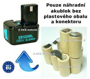 Baterie Hitachi EB1214S Ni-MH 12V 3000mAh - KIT