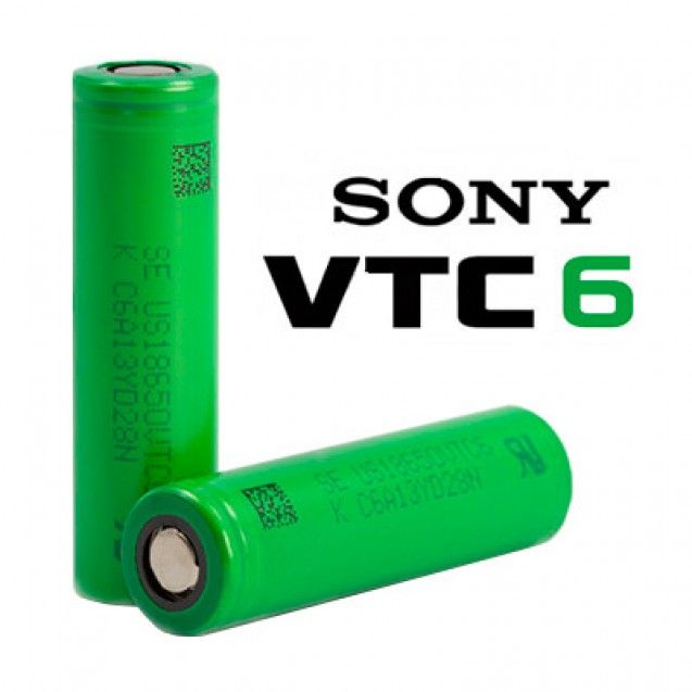 Baterie Murata-Sony Konion US18650 VTC6 - 3120mAh