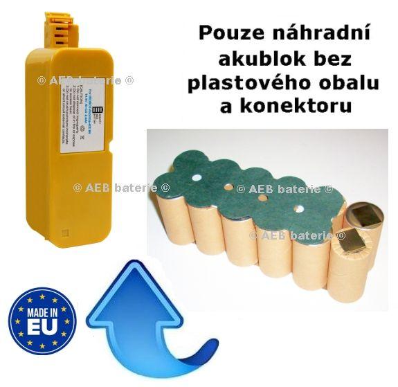 Baterie pro iRobot Roomba 400, 405 - 3300 mAh Ni-MH KIT AEB