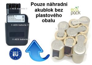 Baterie pro Metabo 31723000 12V 2000 mAh KIT
