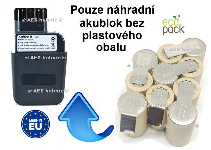 Baterie pro Metabo 31723000 12V 2000 mAh KIT AEB