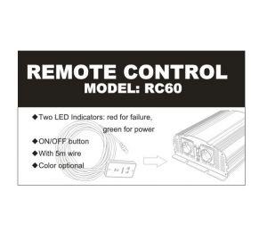 Carspa RC60 - Dálkové ovládání k měničům napětí Carspa, 5m kabel