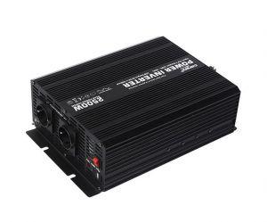 Měnič napětí Carspa CAR2.5KU-12 12V/230V+USB 2500W, modifikovaná sinus