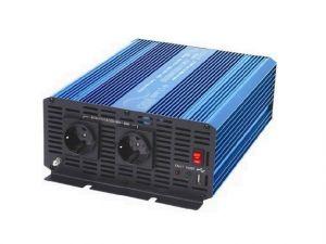 Měnič napětí Carspa P1500-12, 12V/230V1500W čistá sinusovka