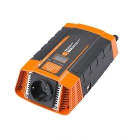 Měnič napětí Carspa PID400-12 12V/230V+USB 400W, modifikovaná sinus