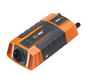 Měnič napětí Carspa PID600-12 12V/230V+2xUSB 600W, modifikovaná sinus, digitální display, vhodný do