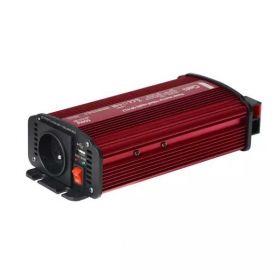 Měnič napětí Geti GPI612 12V/230V+USB 600W, modifikovaná sinus