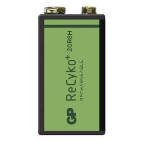 Nabíjecí baterie GP ReCyko+ 200 (9V)