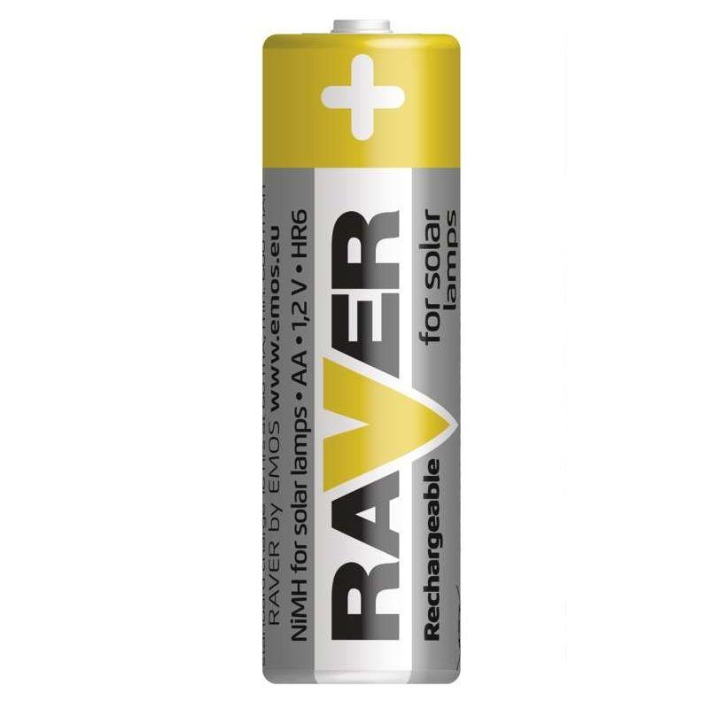 Nabíjecí baterie RAVER 600 mAh HR6 (AA)