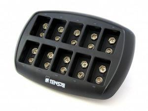 Nabíječka baterií Tensai 1-10 9V / 6F22 TI-NI9.6V-10
