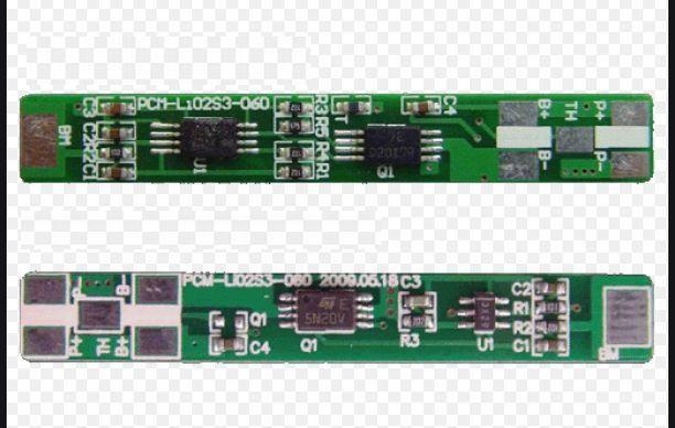 BMS pro Li-Ion a Li-Pol baterie 2S 7,2V - 7,4V - 2,5A AEB