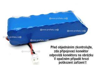Baterie pro vysavač Rowenta RH8771 18V 2500mAh články Panasonic