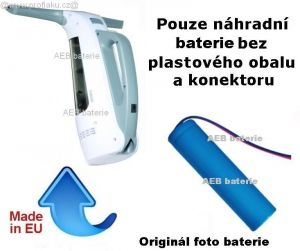Baterie Professor čistič oken AS2 3000 mAh 3,7V