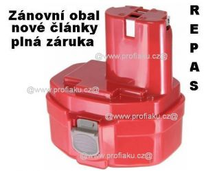 Baterie Makita 1420, 1422, 1433, 1434, 1435, PA14 - 12V - 2500mAh Panasonic