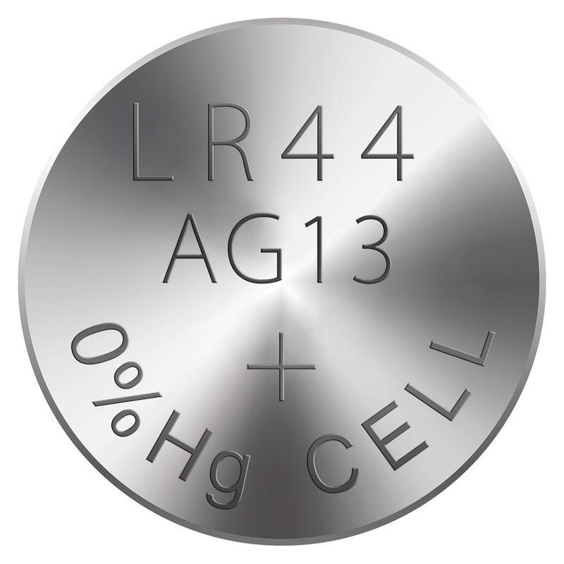 Alkalická knoflíková baterie RAVER LR44 (A76)