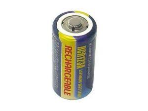 Baterie CR123, RCR123A, Li-FE, 3V, fotobaterie nabíjecí