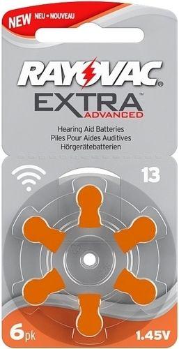 Baterie do naslouchadel 13 / PR48 Rayovac Extra Advanced 6ks