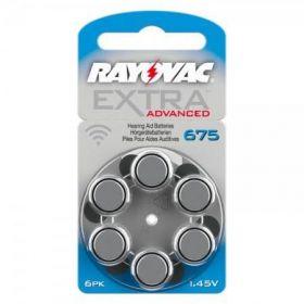 Baterie do naslouchadel 675 Rayovac Extra Advanced 6ks