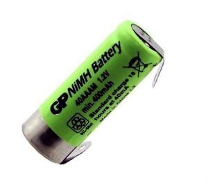 Baterie GP 40 AAAM 2/3 AAA 1,2V 400mAh, Ni-MH s vývody U