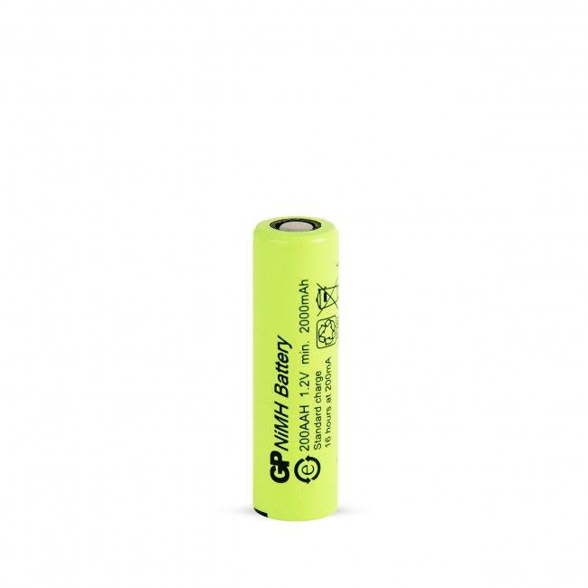Baterie GP AA, 1,2V 2000mAh, NI-MH GP200AAH