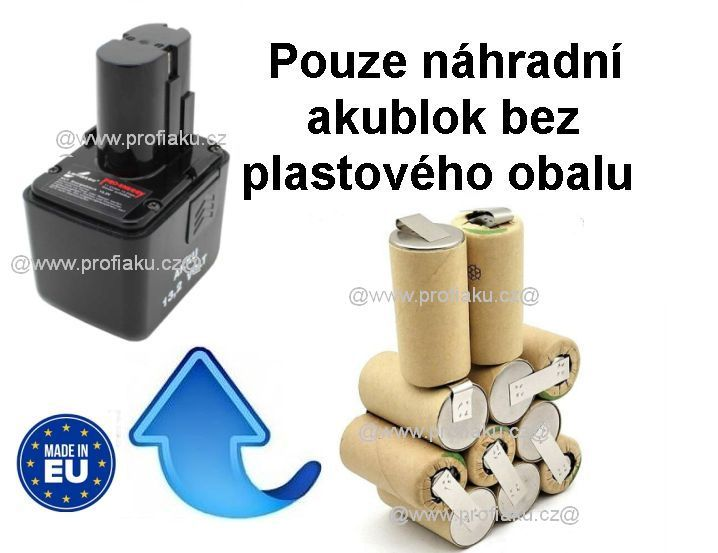 Baterie Lematec 13,2V 2000mAh KIT AEB
