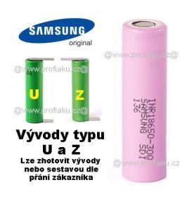 Baterie Samsung INR18650 - 30Q 3000mAh - 15A vývody U