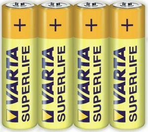 Baterie Varta Superlife LR3 4ks AAA 1,5V