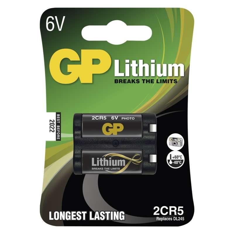 Lithiová baterie GP 2CR5, 1022000511 B1505