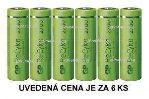 Nabíjecí baterie GP ReCyko 2700 AA (HR6) - 6ks