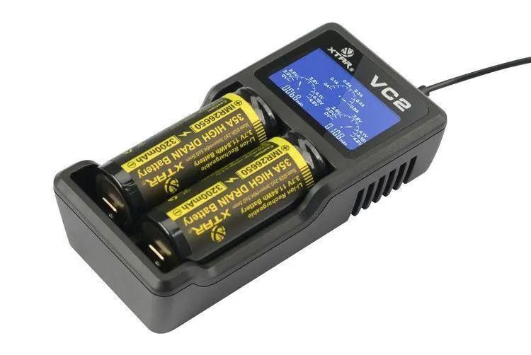 Nabíječka Xtar VC2 USB pro 2 Li-Ion akumulátory