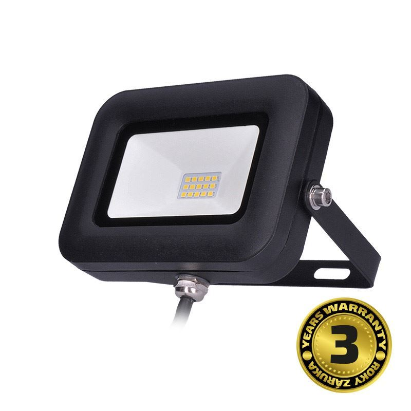 Solight LED reflektor PRO, 10W, 850lm, 5000K, IP65
